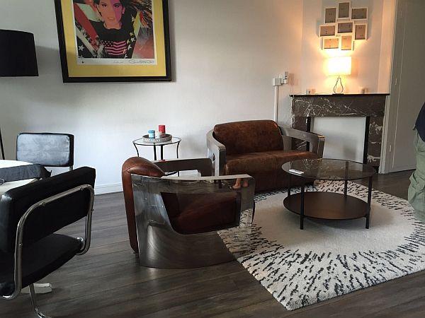 Woonkamer appartement te huur Amsterdam
